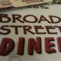 Photo taken at Broad St Diner by Joe D. on 12/18/2012