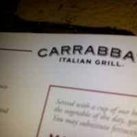 Photo taken at Carrabba's Italian Grill by John D. on 12/31/2012