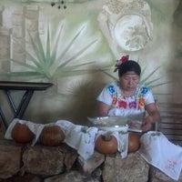 Photo taken at La Chaya Maya by Martha Patricia C. on 4/24/2013
