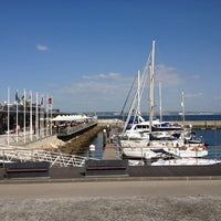 Photo taken at Oeiras Yacht Harbour by Izzy S. on 4/23/2013
