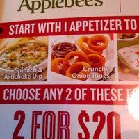 Photo taken at Applebee's Neighborhood Grill & Bar by Suzi B. on 3/20/2013
