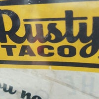 Photo taken at Rusty Taco Preston Hollow by Louise T. on 10/21/2015