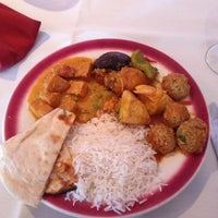Photo taken at India Oven by Brittany D. on 11/26/2012