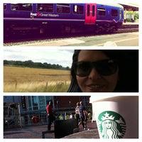Photo taken at Starbucks by Katy C. on 8/10/2013