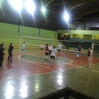 Photo taken at Ginásio Poliesportivo Francisco Limonti by Bianca Baldochi on 10/27/2014