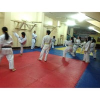 Photo taken at MSU Karate Club Honbu Dojo by She R. on 10/6/2013