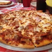 Photo taken at Mannie & Bo's Pizzeria by Karen W. on 9/23/2012