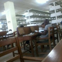 Photo taken at Library Uni. Of Cape Coast by Yaw S. on 5/20/2013