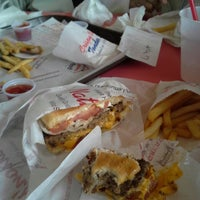 Photo taken at Nation's Giant Hamburgers by Connie on 11/2/2013
