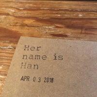 4/3/2018에 Sean W.님이 Her Name is Han에서 찍은 사진