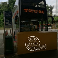 Photo taken at SMRT Buses: Bus 963 by サッカロマイセス ・. on 2/22/2017