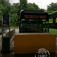 Photo taken at SMRT Buses: Bus 963 by サッカロマイセス ・. on 3/7/2017