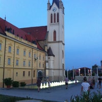 Photo taken at Fő tér by Guillaume . on 7/28/2013