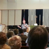 Photo taken at Reisterstown United Methodist Church by William C. on 10/18/2012