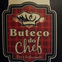 Photo taken at Buteco do chef - Restaurante & Bar by Sheyla R. on 4/19/2014
