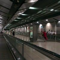 Photo taken at Serangoon MRT Interchange (NE12/CC13) by Lindawati R. on 3/14/2013
