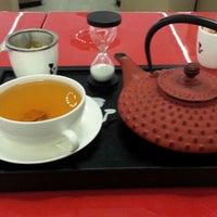 Photo taken at Wiener's Tea&Coffee Lounge by Altan A. on 3/24/2013