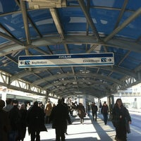 Photo taken at Avcılar Metrobüs Durağı by Pnr H. on 12/12/2012