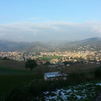 Photo taken at Sant'Angelo in Vado by Francesco P. on 11/29/2013