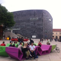 Photo taken at MuseumsQuartier by Alexey F. on 5/16/2013