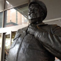 Photo taken at Ralph Kramden Statue by Rob on 10/16/2013