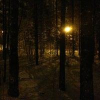 Photo taken at Vabaduse park by Vika R. on 2/9/2013