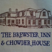 Photo taken at The Brewster Inn & Chowder House by Dain B. on 7/16/2013