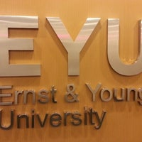 Photo taken at EYU - Ernst & Young University by Elton B. on 5/19/2014
