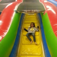 Photo taken at Bounce House Williamsburg by Richard S. on 1/24/2013