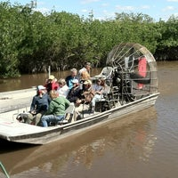 Photo taken at Jungle Erv's Airboat Tours by Michael R. on 2/18/2013
