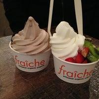 Photo taken at Fraiche Yogurt by Patricia Z. on 2/1/2013