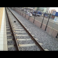 Photo taken at Century Park LRT Station by Dave W. on 5/8/2013