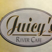 Photo taken at Juicy's River Cafe by James H. on 2/17/2013
