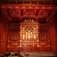 Photo taken at New England Conservatory's Jordan Hall by Henry D. on 3/24/2013