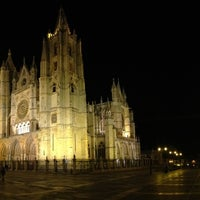 Photo taken at León Cathedral by Gustavo S. on 1/21/2013
