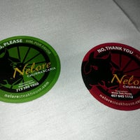 Photo taken at Nelore Churrascaria Authentic Brazilian Steakhouse by Farina A. on 12/27/2012