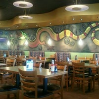 Photo taken at HuHot Mongolian Grill by Susan L. on 1/9/2013