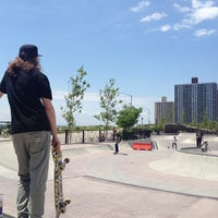 Photo taken at Far Rockaway Skatepark by Max C. on 8/6/2013