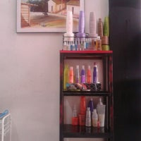 Photo taken at Hello Beauty Salon by Wendy Q. on 8/23/2013
