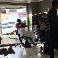 Photo taken at serkan rei barber's by Salih G. on 5/3/2014