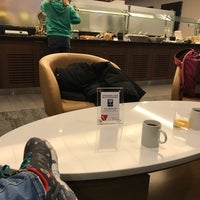 Photo taken at Delta Sky Club by Ale R. on 1/7/2018