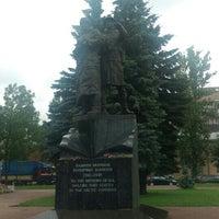 Photo taken at Памятник Подвигу моряков полярных конвоев by Alya V. on 7/5/2016