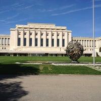 Снимок сделан в UNECE Geneva пользователем Dhruve S. 4/15/2013