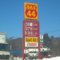 Photo taken at Gas 44 by Marcelo I. on 2/13/2013
