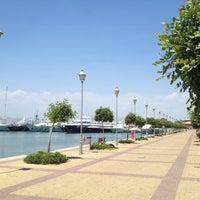 Photo taken at Flisvos Marina by Δανάη on 6/26/2013