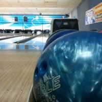Photo taken at Sunset Bowling Center by Elora K. on 12/4/2012