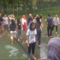 Photo taken at Lapangan Psikologi UI by Angie M. on 12/14/2012
