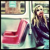 Photo taken at Kipling Subway Platform by Sanjeev A. on 10/27/2013