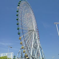 Photo taken at Tempozan Giant Ferris Wheel by Jill S. on 5/12/2013