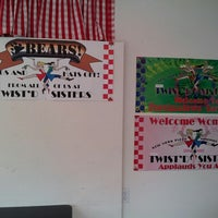 Photo taken at Twisted Pizza and Ice Cream by Diane W. on 5/29/2013